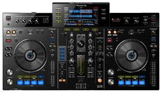 Pioneer DJ unveiled its new all-in-one rekordbox DJ controller on Tuesday morning. The XDJ-RX features two CDJ players, a mixer and a single LCD displ