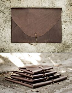 15 Handmade Leather Goods for Every Kind of Guy | Man Made DIY | Crafts for Men | Keywords: gift-guide, accessories, organization, style