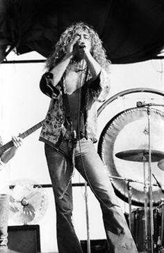 Robert Plant, Sydney 1972.