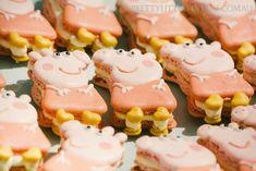 festa tema peppa pig princesa
