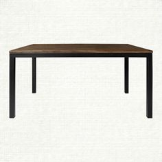 """Palmer 60"""" Dining Table in Bali Brown For breakfast room table option"""