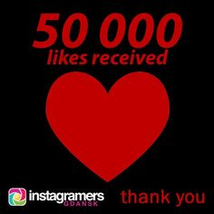 Thank you very much for your 50 000 likes of IgersGdansk photos and videos! #igers #instagramers #igersgdansk #igerspoland #beautiful #...