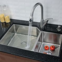 kraus is one the leading designers luxurious kitchen sinks check out how function these are - Kraus Sinks