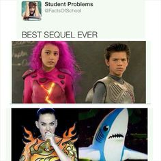 The Adventures of Sharkboy and Lavagirl!