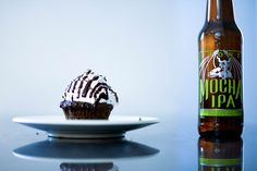 Stone Mocha IPA cupcakes are made with Stone Brewing Company in Escondido…