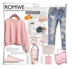 """""""Loose Pink Sweatshirt 