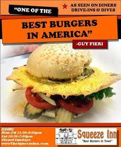 Squeeze Inn| Award Winning| Hamburgers| Restaurant| Home