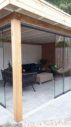 Outdoor Rooms, Outdoor Decor, Interior Garden, Old Farm, Exterior Design, Man Cave, Swimming Pools, Pergola, Home And Garden