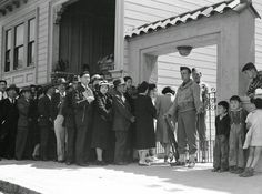 Pictures of the Internment of Japanese Americans during World War II