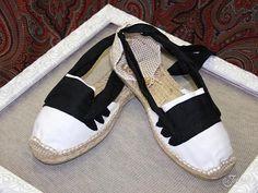 alpargatas de jotera blancas $11\u20acuros http//tienda.lajotica.com