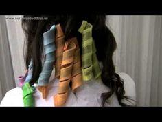 Peinado Ondas de Cabello