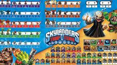 Learn the names of every new Skylanders Trap Team character!
