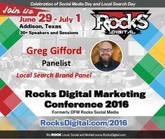 Join us for the 2016 Rocks Digital Marketing Q &A Panel, moderated by Bernadette Coleman with panelists Greg Gifford, Rachel Morgan and Karen Platt Bearman.