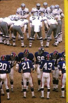Cowboys-Giants '60's