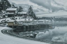 Winter In Oslo  Photograph #Photography #Art #winter #Landscapes
