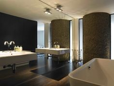 Apartment 60 : Modern bathroom by Mackay + Partners llp