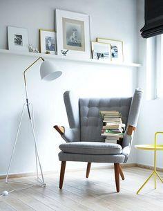leesplek lees stoel