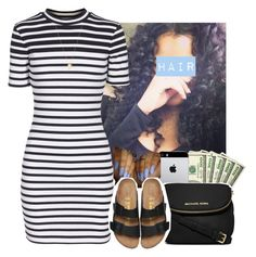 """""""Grown Woman     PARTYNEXTDOOR"""" by heavensincere ❤ liked on Polyvore featuring T By Alexander Wang, MICHAEL Michael Kors and Joolz by Martha Calvo"""