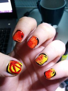 Borderlands nail art