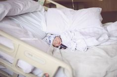 How to take gorgeous newborn pictures in the hospital Madeleine JL Photography…