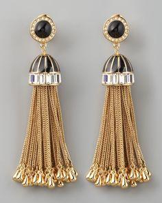 Rachel Zoe Art Deco Jewelry Collection Earrings
