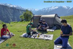 Ranghthar hike at Great Himalayan National Park (GHNP) Himalayan, World Heritage Sites, Trekking, National Parks, Hiking, Camping, Mountains, Landscape, Lunch