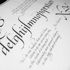 #wip #calligraphy #calligraphyart #thedailytype #thedesigntip #goodtype #writing #Handwriting #typeispire #typographyinspired #goodtype #thedailytype #thedesigntip #goodscript #letters #lettering #script #fortheloveofletters #chiarariva #instaitalia #italic #calligrafia #ink #illustration