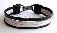 pulseiras masculinas de couro - Pesquisa Google