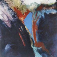Studie 17, 2001 (P.Wienand) Acryl auf Leinwand/Holz, 25 x 25 cm