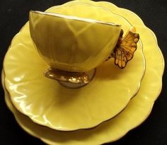 Aynsley Butterfly Handle