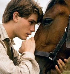 War Horse, Jeremy Irvine. I really do love good horse stories