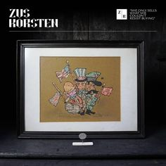 Dutch WWII Caricatures of Hitler, Göring, Stalin, Rooseveld, and Churchill | From a unique collection of antique and modern historical memorabilia at https://www.1stdibs.com/furniture/more-furniture-collectibles/historical-memorabilia/