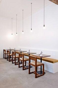 Adriaan Louw | coffee shop interior design #cafe #restaurant #eatery