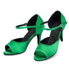 D1079  Ladies Ballroom latin dance shoes discount price dance shoes ship worldwide