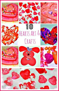 10 super sweet Valentine's day art projects, crafts and sensory activities