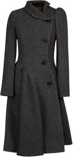 Shop Women's Vivienne Westwood Anglomania Coats on Lyst. Track over 260 Vivienne Westwood Anglomania Coats for stock and sale updates. Vivienne Westwood Kleider, Vivienne Westwood Anglomania, Coat Dress, Mode Inspiration, Mode Style, Winter Fashion, Fashion Coat, Dress Fashion, Street Fashion