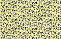 yellow skulls fabric by rockitbaby on Spoonflower - custom fabric  Baby leggings