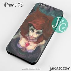 beautiful ariel the little mermaid Phone case for iPhone 4/4s/5/5c/5s/6/6 plus