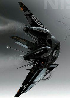 Futuristic military VANT/Drone
