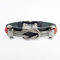 Pulseira Masculina Couro Bracelete Fecho Magnetico Premium mens bracelets fashion style cocar brasil