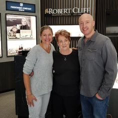 Thank you Cathy and Andy for taking the time to come into our showroom after 17 years! They got a special suprise when realising the same salesperson is still part of the team!
