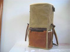 Bicycle Rolltop Pannier Backpack Duffle Bag by thedragonflypath