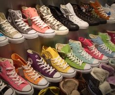 Converse - I can't help it. I love these almost as much as I loved Doc Marten's in high school.