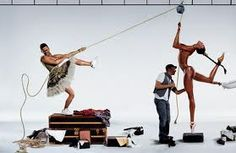 Jean-Paul Goude's homage to Grace Jones & tribute with Marc Jacobs & Naomi Campbell. Naomi Campbell, Grace Jones, Marc Jacobs, Louis Vuitton, Jean Paul Goude, Stephanie Seymour, Foto Fashion, Fashion Models, Star Wars