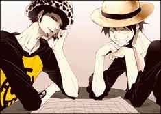 Tags: Anime, ONE PIECE, Monkey D. Luffy, Straw Hat Pirates, Trafalgar Law