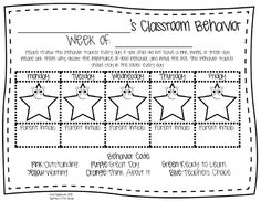Spotted in First Grade: Classroom Behavior Management: The Clip System