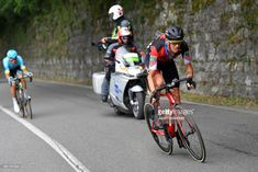 #Giro101 ISEO - FRANCIACORTA STAGE, ITALY - MAY 23: Alessandro De Marchi of Italy and BMC Racing Team / Luis Leon Sanchez of Spain and Astana Pro Team / during the 101st Tour of Italy 2018, Stage 17 a 155km stage from Riva Del Garda to Iseo - Franciacorta Stage / Giro d'Italia / on May 23, 2018 in Iseo - Franciacorta Stage, Italy. (Photo by Justin Setterfield/Getty Images)