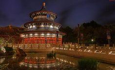 A look at Epcot's China Pavilion at Walt Disney World
