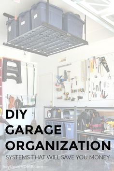 DIY Garage Organizat
