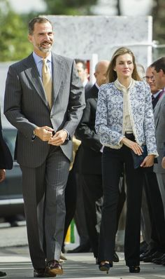 King Felipe and Queen Letizia attended the Opening of the School Courses  in Orense, Spain. 9/14/2014